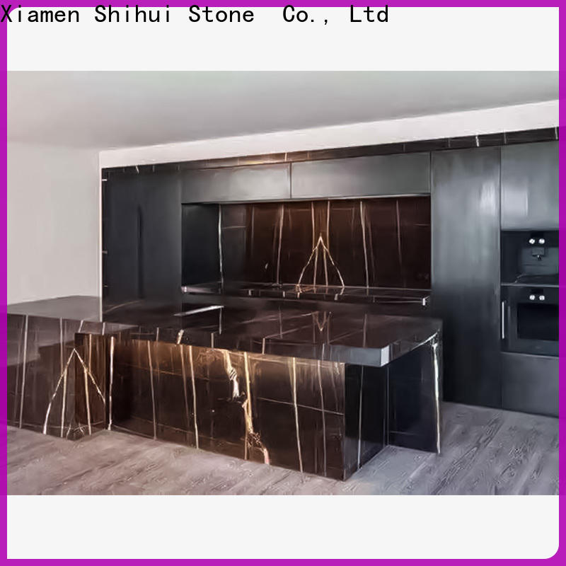 Shihui brown engineered stone countertops personalized for bar