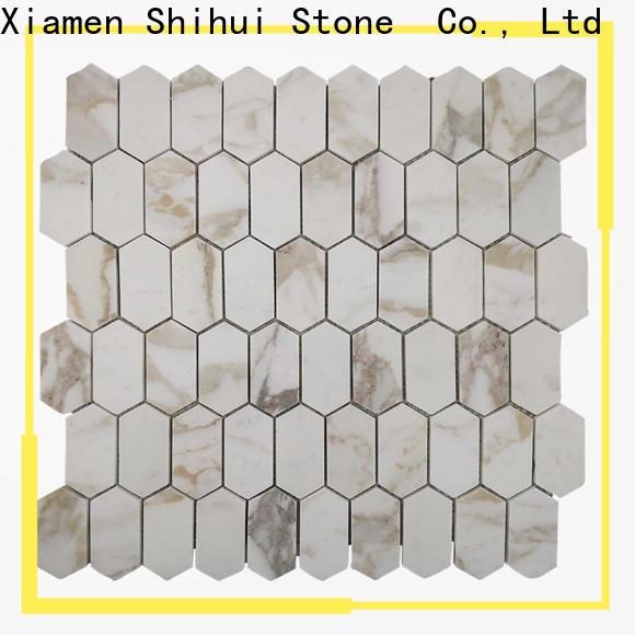 grey natural stone mosaic tiles series for toilet