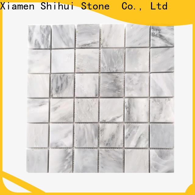 hot selling stone mosaic tile backsplash series for bathroom