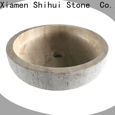 sturdy natural stone wash basin supplier for bathroom