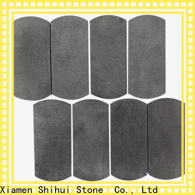 Shihui natural stone tile mosaic customized for bathroom
