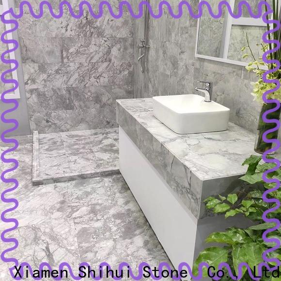 Shihui approved natural stone marble tile inquire now for household