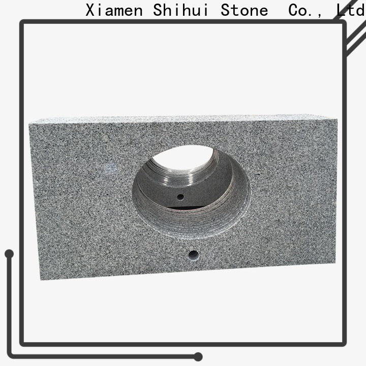 artificial stone slab countertop personalized for hotel