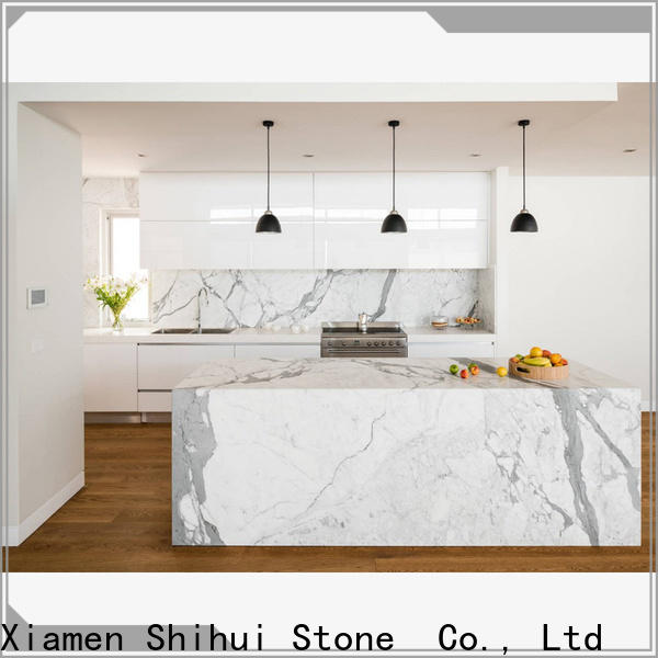 Shihui certificated stone slab countertop supplier for bar