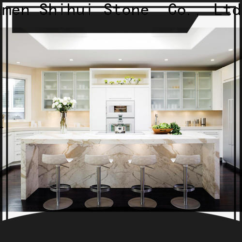 calacatta manmade stone countertops supplier for bar