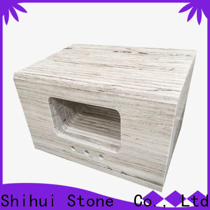 Shihui juparana solid stone countertops factory price for bar
