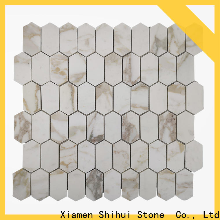 grey natural stone mosaic customized for toilet