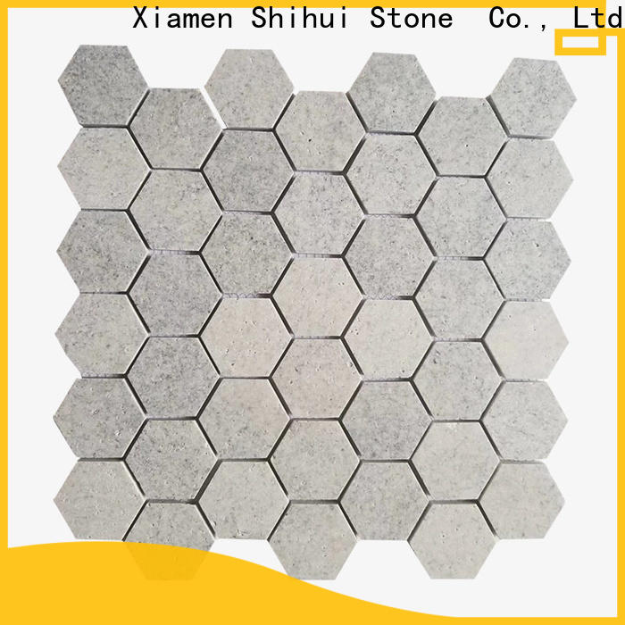 Shihui tile stone mosaic from China for indoor
