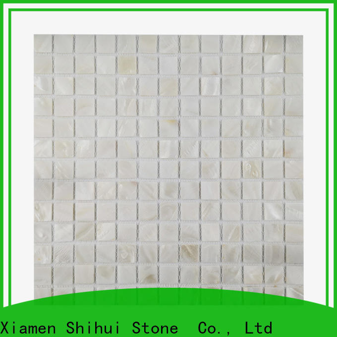 basalt natural stone mosaic tiles directly sale for indoor