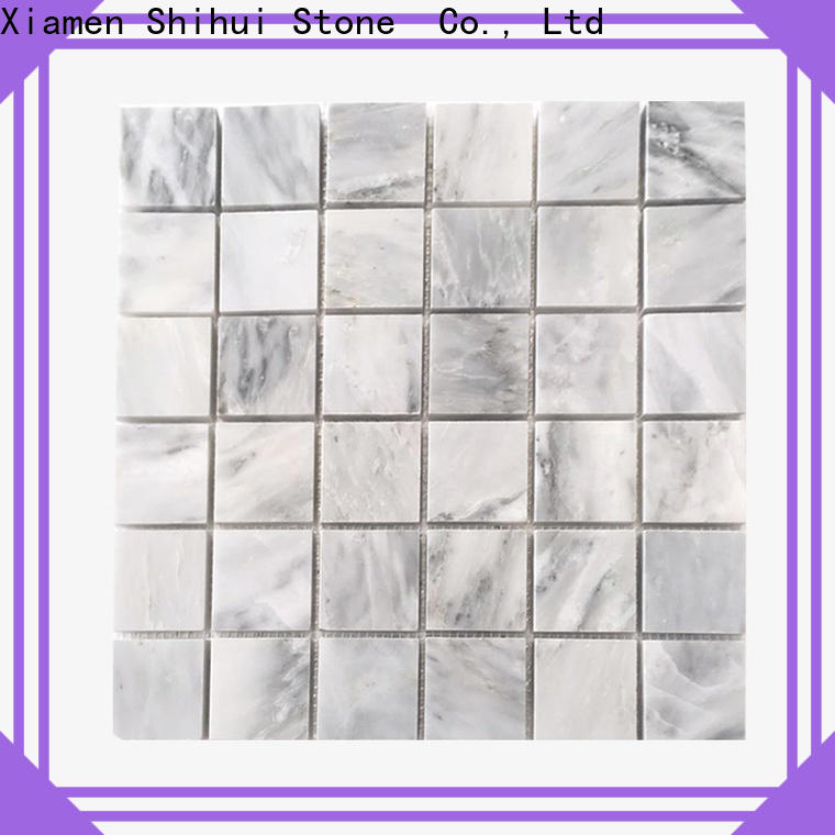 hexagon natural stone tile mosaic manufacturer for bathroom