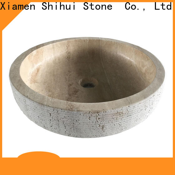 Shihui stable natural stone sink basin personalized for hotel
