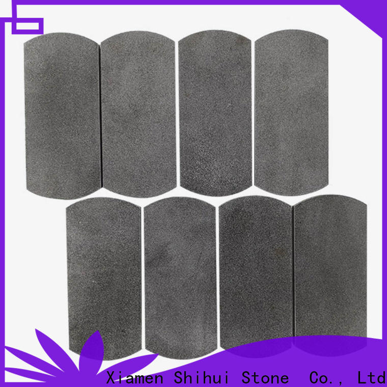 Shihui square natural stone mosaic from China for indoor
