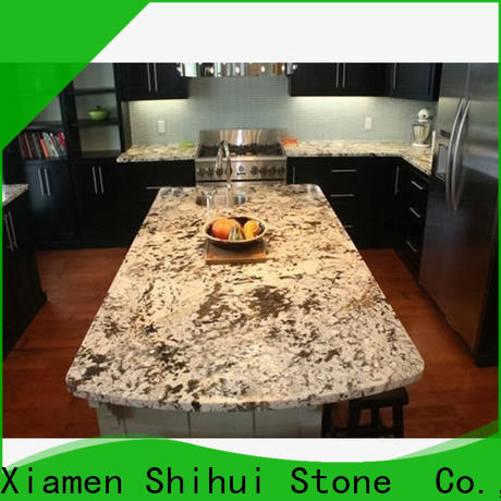 Shihui artificial cornerstone countertops personalized for bathroom