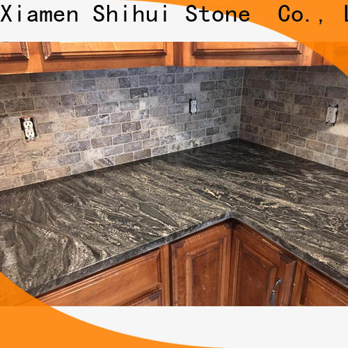 certificated manufactured stone countertops factory price for hotel