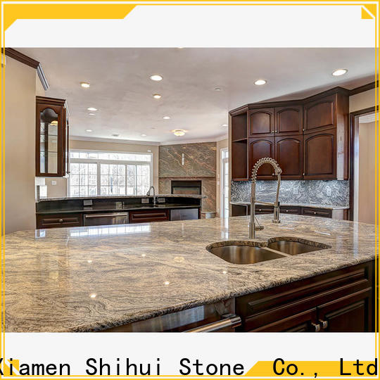 Shihui artificial solid stone countertops personalized for hotel