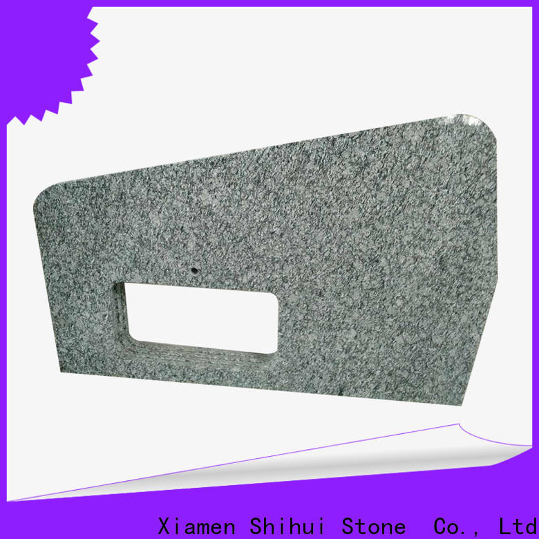 sturdy solid stone countertops personalized for kitchen