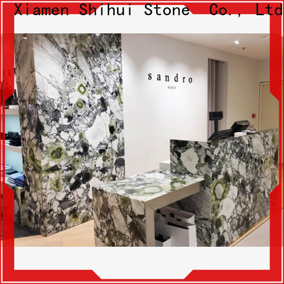 Shihui calacatta stone kitchen countertops factory price for bar