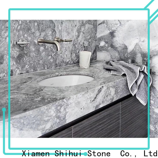 Shihui stone slab countertop factory price for kitchen