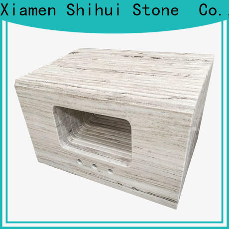 Shihui brown stone countertop supplier for hotel
