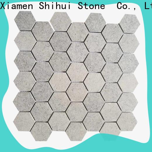 basalt natural stone mosaic manufacturer for household