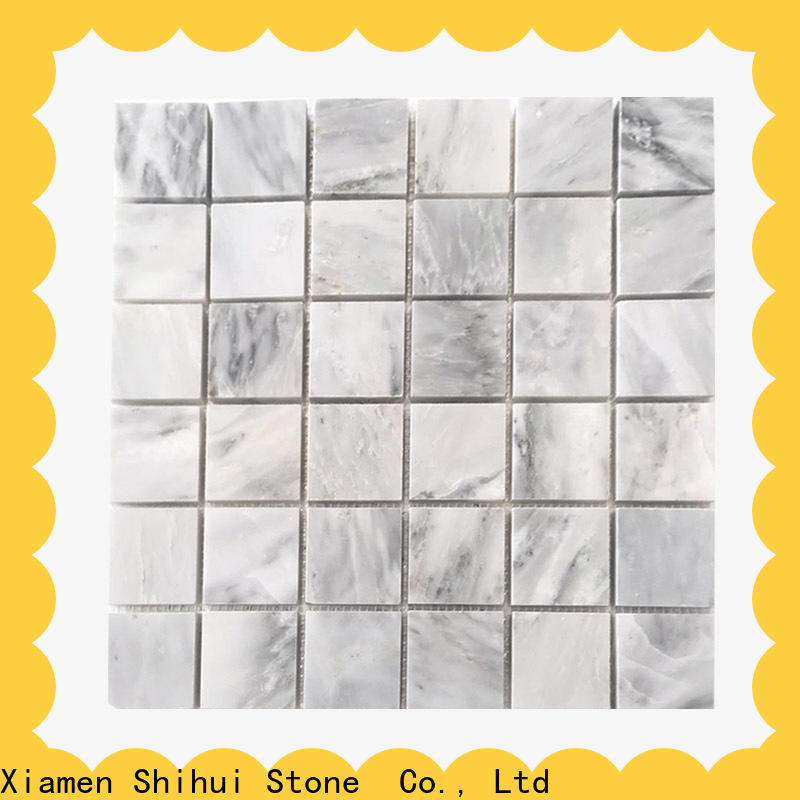 Shihui practical natural stone mosaic tiles series for indoor