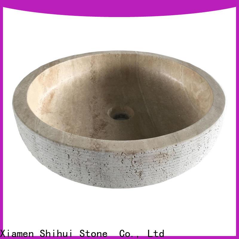 Shihui sturdy stone sink wholesale for hotel