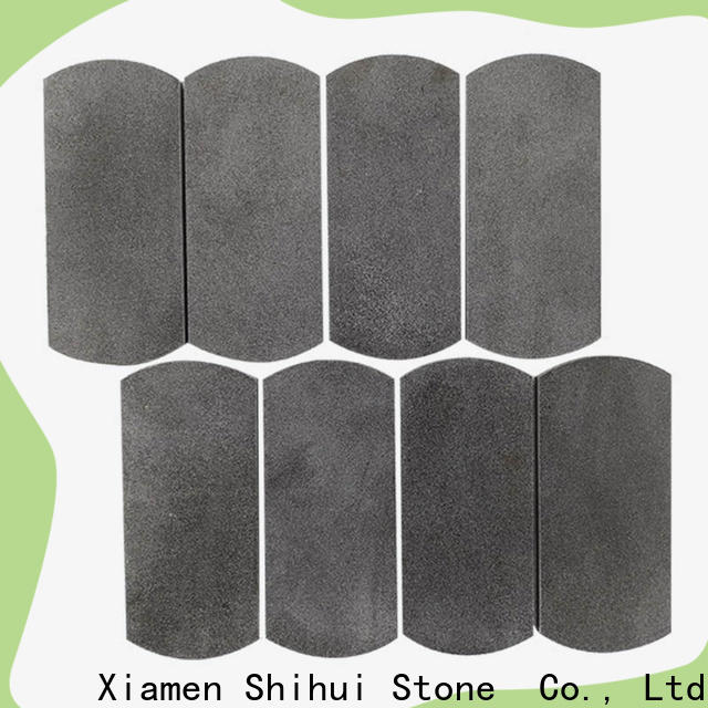 Shihui basalt natural stone mosaic series for household