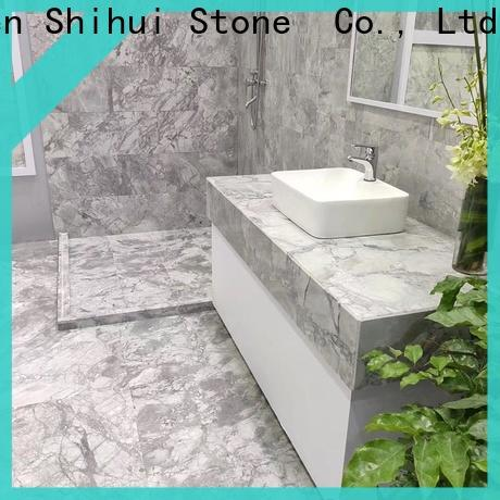 Shihui top quality natural marble tile design for household