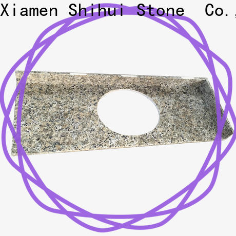 Shihui cultured stone countertop factory price for bathroom