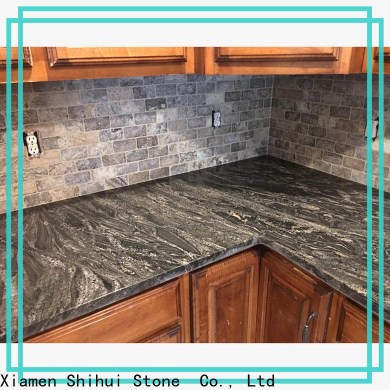 certificated manufactured stone countertops wholesale for kitchen