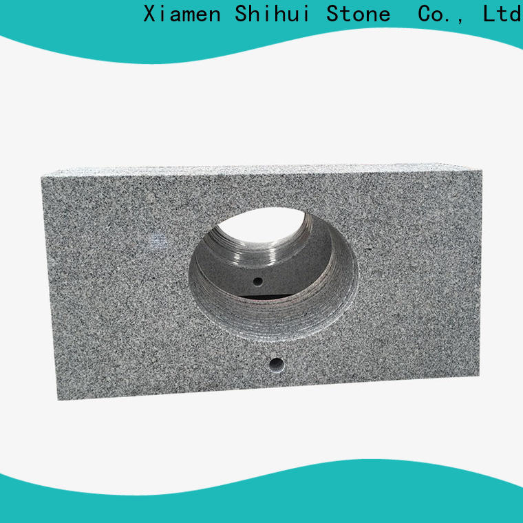 Shihui manmade stone countertops personalized for bathroom