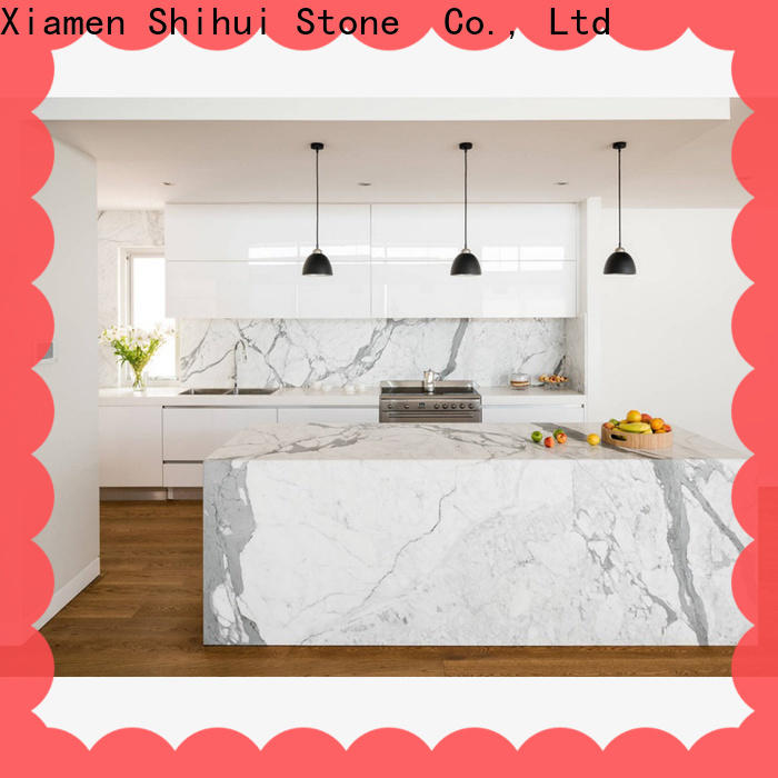 Shihui cultured stone countertop supplier for hotel