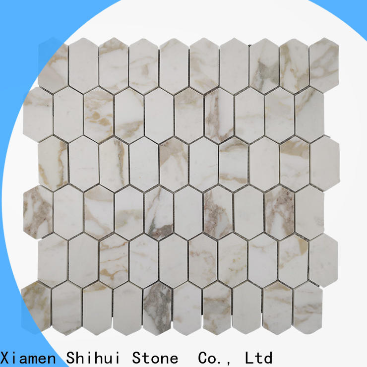 durable natural stone mosaic tiles from China for bathroom