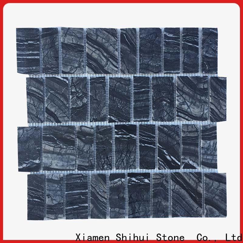Shihui quality stone mosaic tile backsplash from China for household