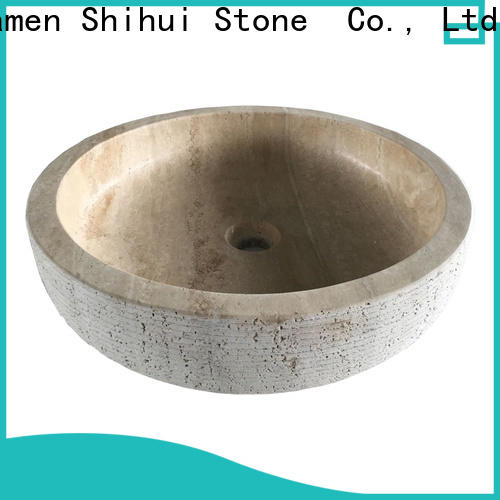 stable natural stone wash basin factory price for bathroom