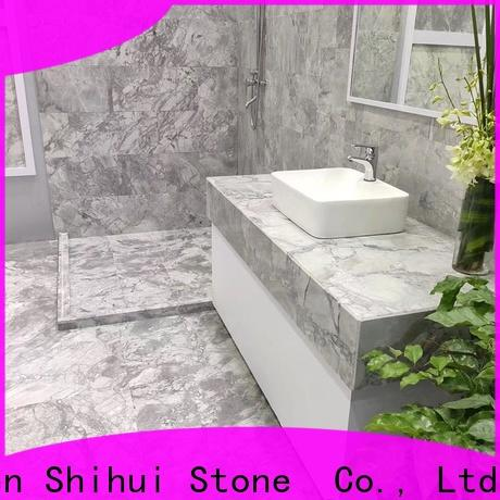 excellent natural marble tile factory for toilet