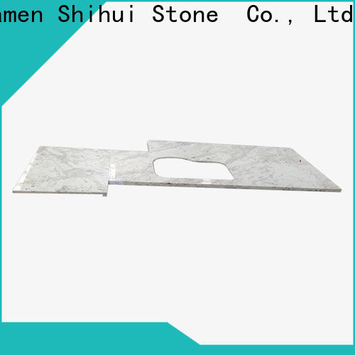 Shihui sturdy cultured stone countertop personalized for kitchen