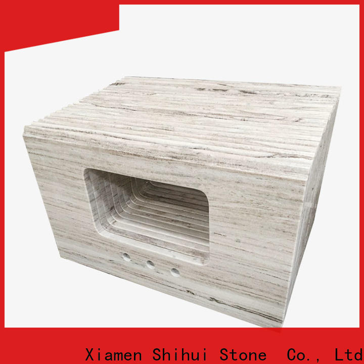 Shihui quality stone tile countertops factory price for bathroom