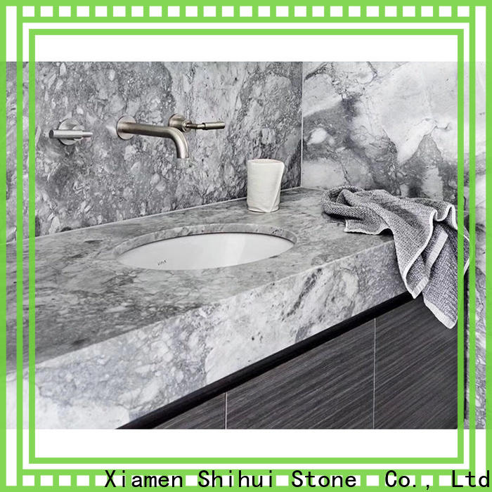 Shihui engineered stone countertops factory price for hotel