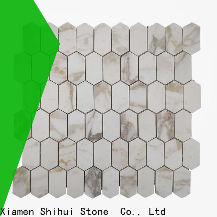 Shihui natural stone tile mosaic manufacturer for toilet