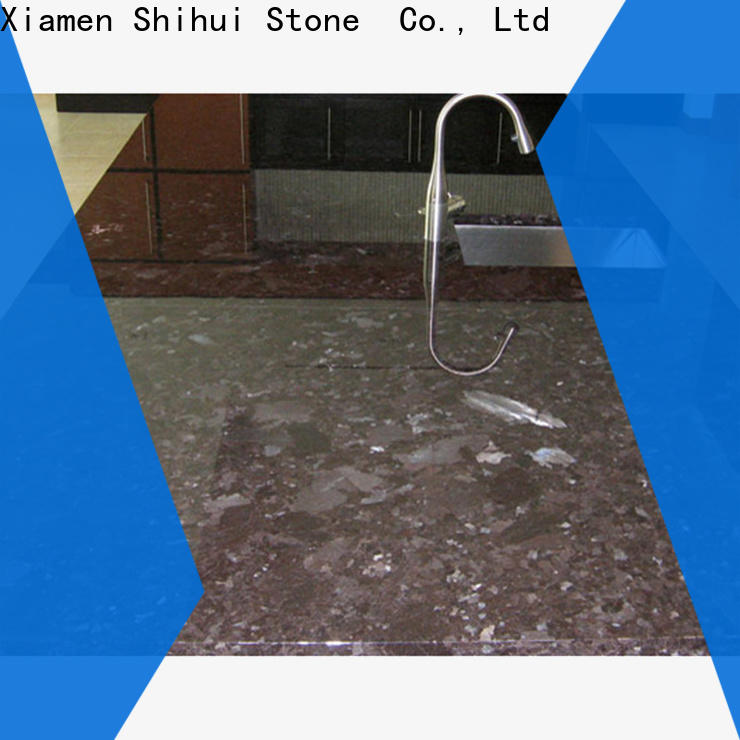 Shihui juparana stone kitchen countertops personalized for hotel