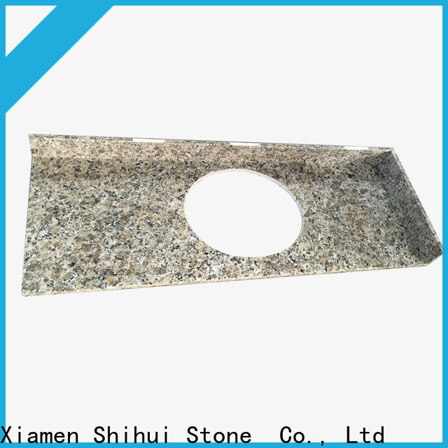 Shihui certificated stone slab countertop factory price for bathroom
