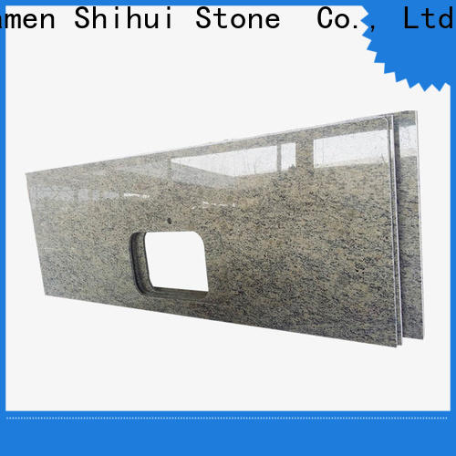Shihui sturdy cultured stone countertop personalized for bar