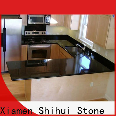 santo solid stone countertops personalized for hotel