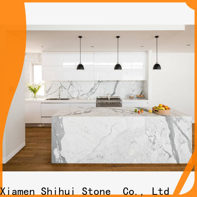 artificial engineered stone countertops personalized for bar