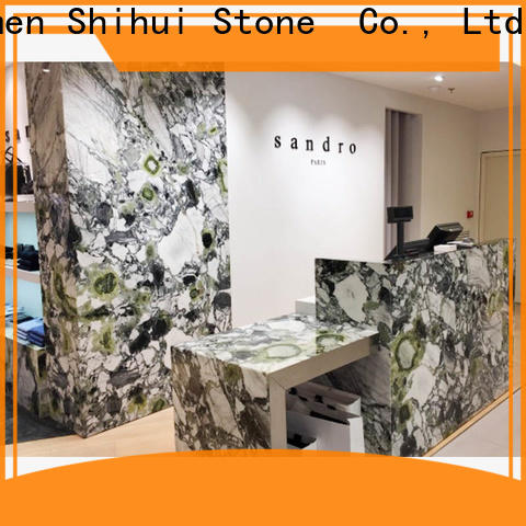 artificial engineered stone countertops personalized for kitchen