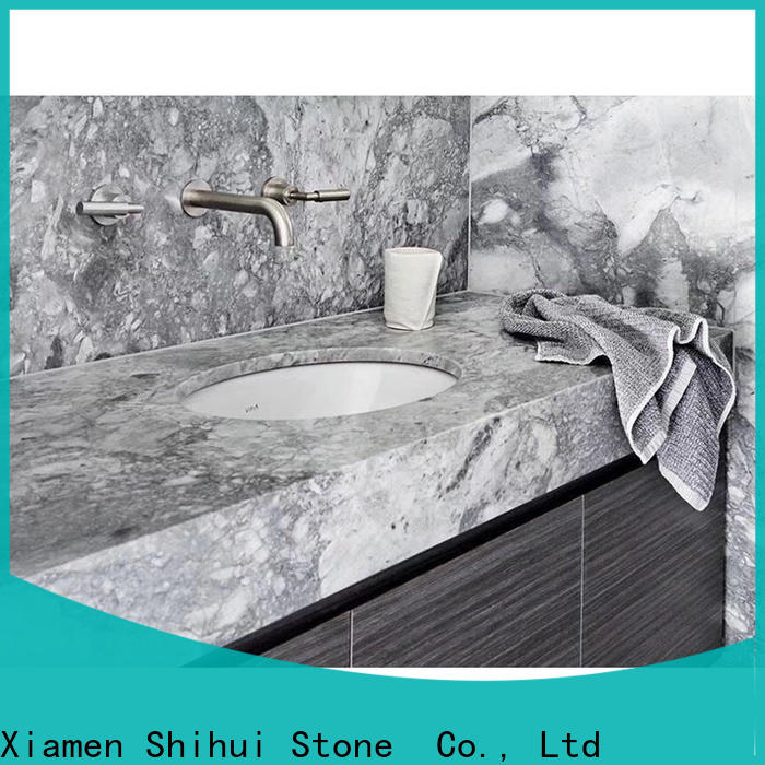 Shihui sturdy cultured stone countertop factory price for hotel