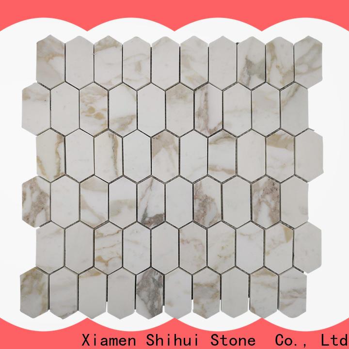 Shihui stone mosaic backsplash from China for indoor
