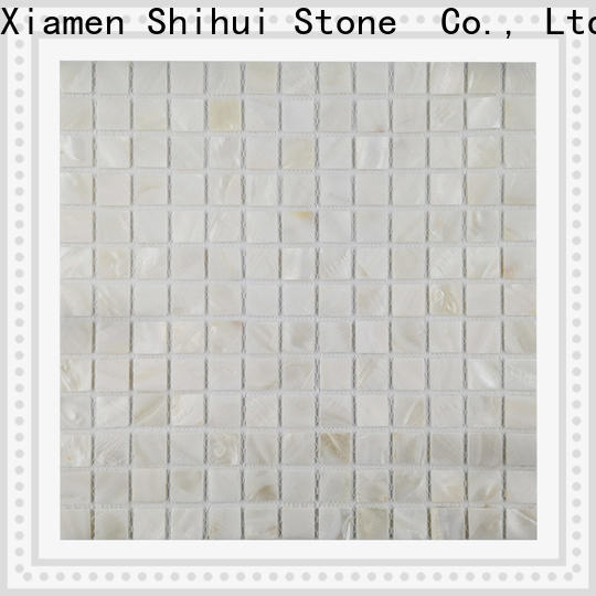 ivory natural stone mosaic tiles series for indoor