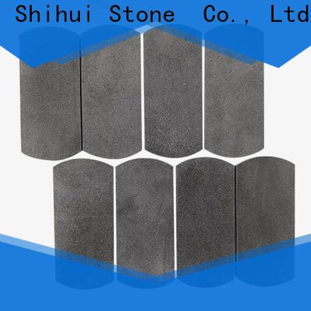 Shihui natural stone tile mosaic customized for toilet
